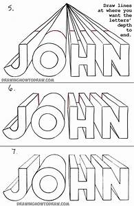 27 best drawing one point perspective name project With how to draw lettering book