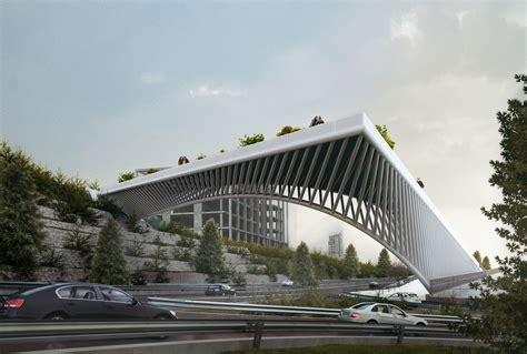 thomas bateman urban city management طراحی پل عابر پیاده حقانی اراضی عباس آباد تهران