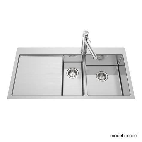 kitchen sink model blanco claron sinks 3d model 2790