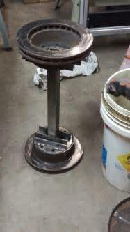 Brake Rotor bar Stool for shop   stuff to make   Pinterest