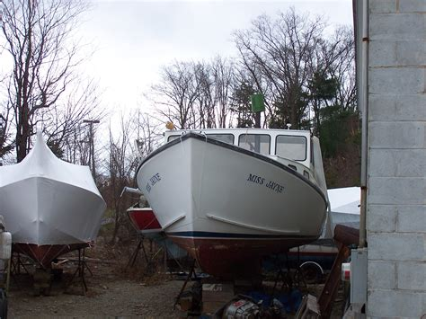 Free Lobster Boats by 35 Downeast Lobster Boat For Sale Page 3 The Hull