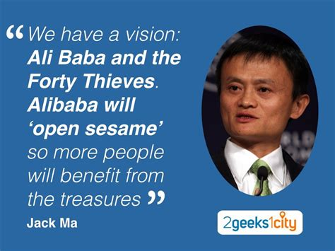Jack Ma quote: why Alibaba is Alibaba?