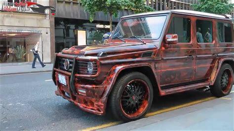 Mercedes-benz G55 Amg Hamann- مرسيدس عراقية معدلة في لندن