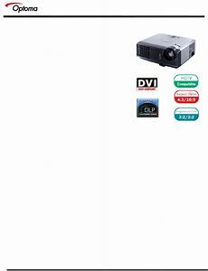 Download Optoma Technology Projector Ep 719 Manual And