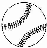 Softball Coloring Pages Baseball Mitt Clipart Printable Cliparts Sheet Sports sketch template