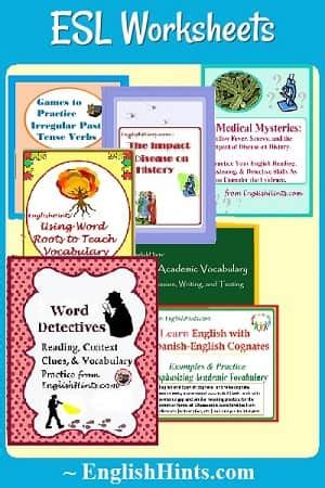 esl worksheets lessons  classroom activities