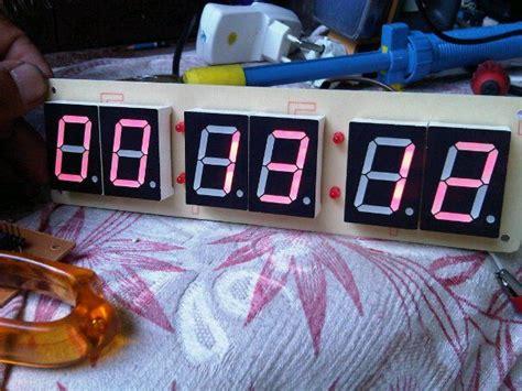 arduino horloge sept segments rtc ds1307 tubefr
