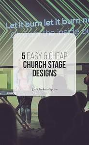 5 More Simple And Cheap Church Stage Designs | Church ...