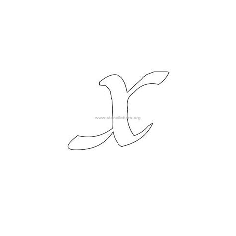 lowercase calligraphy wall letter stencils stencil