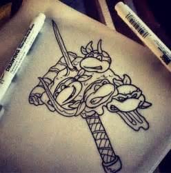 Ninja Turtle Tattoo Designs