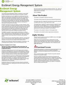 Telkonet Ss6010 Energy Management Controller User Manual