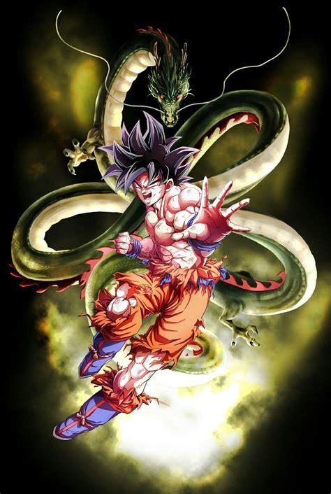 goku  shenron desenhos dragonball anime dragon ball
