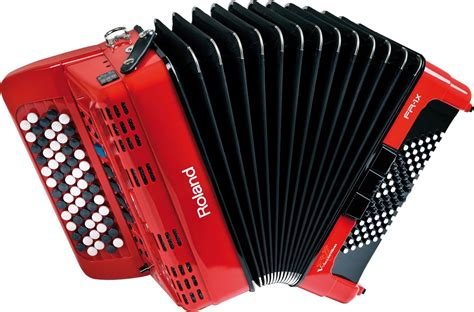 Roland Fr-1xb-rd V-accordian Lite-red W/buttons