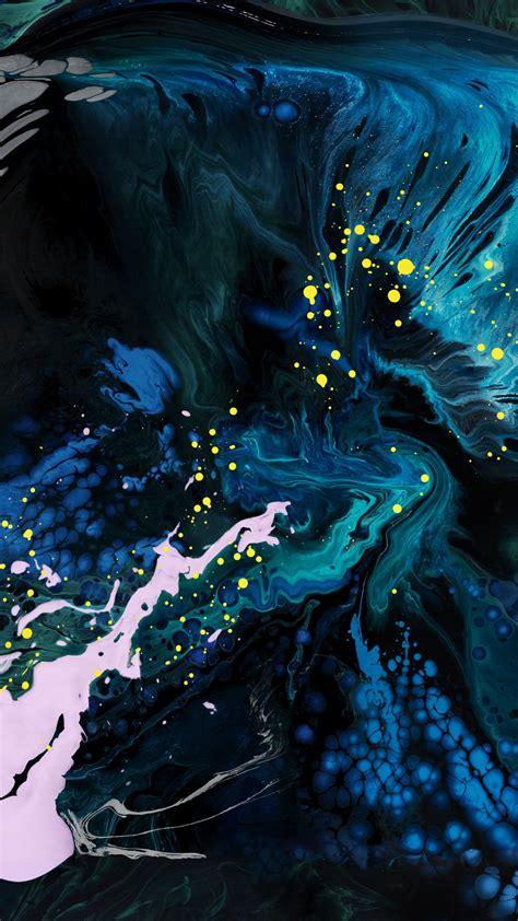 wallpaper abstract colorful ipad pro  dark  os
