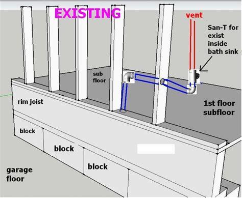 Sink In Garage by Plumbing For Utility Sink In Garage Plumbing Diy Home