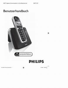 Philips Dect527 Duo User Manual De