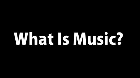 What Is Music??🎵