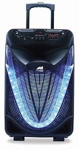 Portable, 15, U2033, Bluetooth, U00ae, Party, Speaker, With, Disco, Light, U2013, Naxa, Electronics