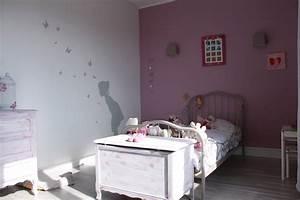 deco chambre vieux rose et gris With chambre grise et rose