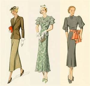 1930s fashion · Miss Moss