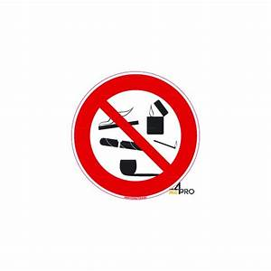 Panneau Interdiction De Fumer : panneau rond interdiction de fumer 8 4mepro ~ Melissatoandfro.com Idées de Décoration