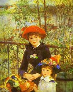 Renoir Two Sisters painting anysize 50% Off