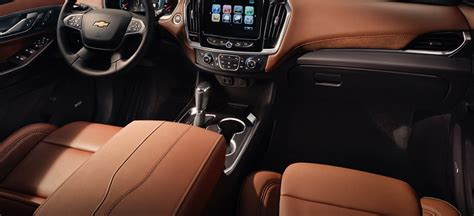 chevrolet traverse change interior high country