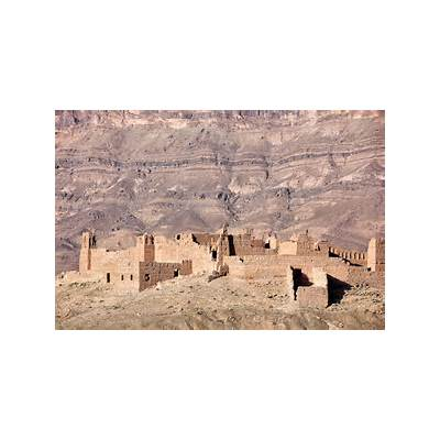 Kasbah ruin in the Draa Valley.Rosa Frei - Photography