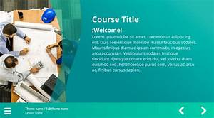 Arrow Navigation Course Starter Template  U2014 Articulate