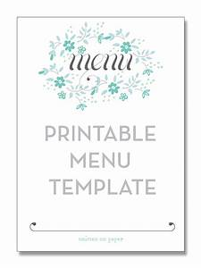 4 best images of free printable template restaurant menus With free menu templates for dinner party