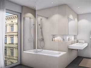 Badewanne Und Dusche : duschkabine badewanne 70 x 150 cm 2 teilig duschabtrennung ~ Michelbontemps.com Haus und Dekorationen