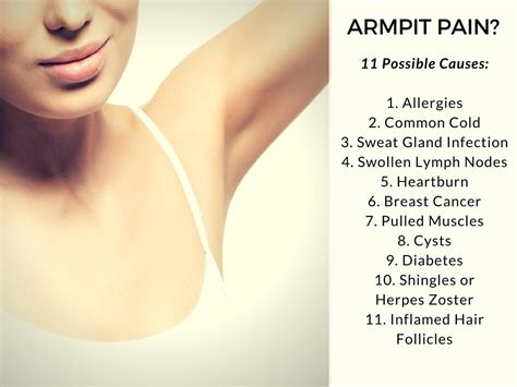 Armpit Pain Causes And Treatments