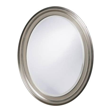 brushed nickel mirror shop tyler dillon george 25 in x 33 in brushed nickel
