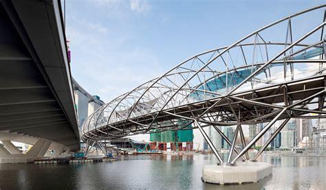 Singapore Helix Bridge  The Awesomer