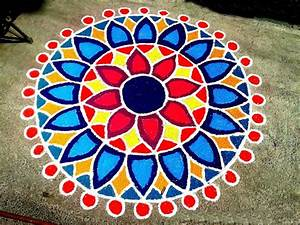 Happy Diwali 2017 Rangoli Easy Designs Patterns with ...