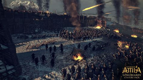 2 total war siege total war attila longbeards dlc and patch delayed for a week