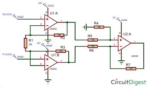 Instrumentation Amplifier Circuit Diagram Using Amp