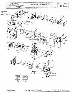 Stihl Weed Eater Parts Diagram