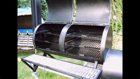homemade custom barbecue smoker build   youtube