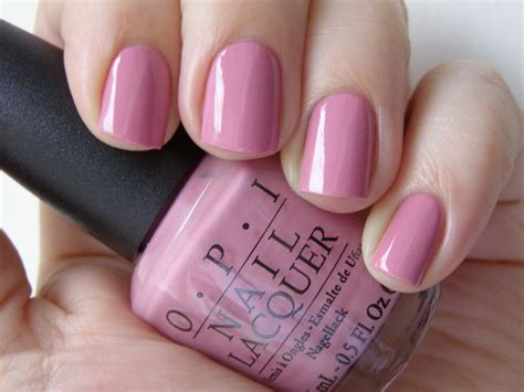 Pretty Neutral Pink. My Favorite Everyday Nail Color. Opi