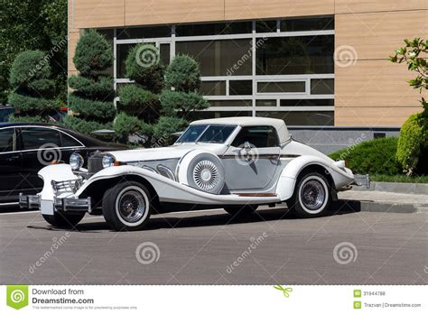 Excalibur Roadster Automobile Stock Photo - Image of ...