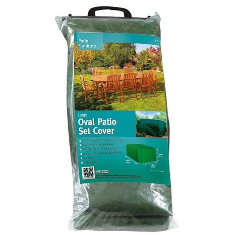 oval patio set cover m l