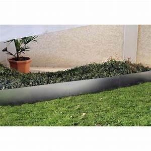 Bordure De Jardin : votre bordure de jardin en acier galvanis h 25 cm jardin ~ Melissatoandfro.com Idées de Décoration