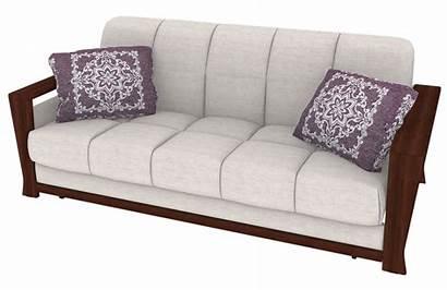 Couch Futon Sofa Mattress Transparent Furniture Cushion