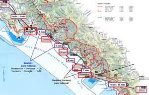 Les Cinq Terres En Italie Carte by 3 Jours Aux Cinque Terre Jolis Circuits