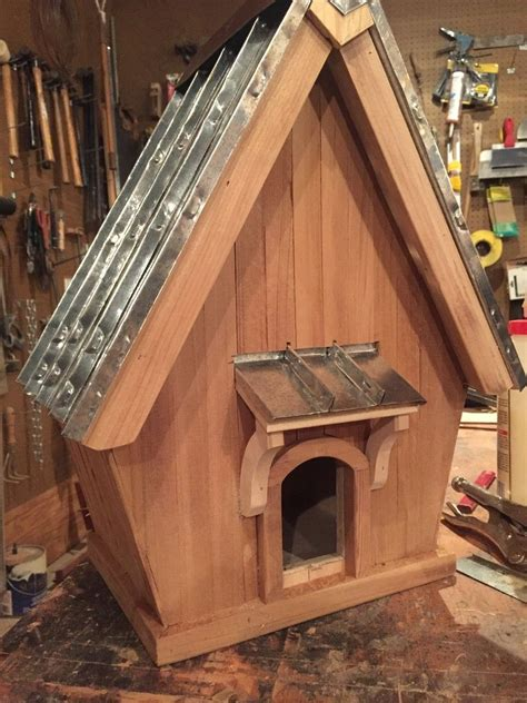 Standing Seam Cedar Bird House Jerry Katzfey Metal