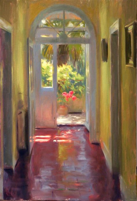 Back Door To Garden Interior Painting, Art  Modern Art