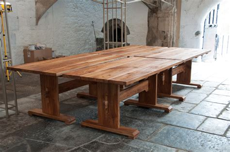 medieval style tables   abbots kitchen david