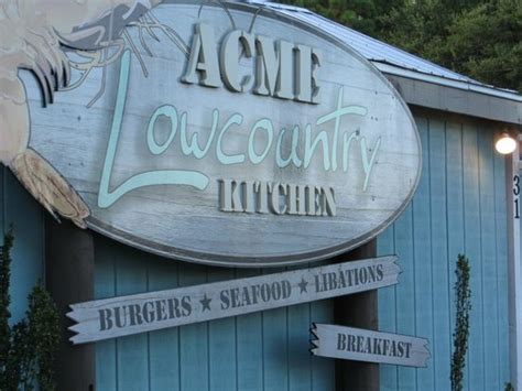 Acme Lowcountry Kitchen Sign