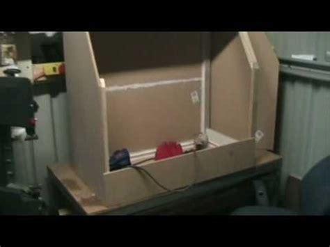 Media Blasting Cabinet Plans by S Amp S Customs Homemade Sand Blaster Media Cabinate Diy